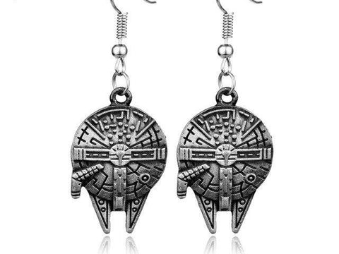 Star Wars Millenium Falcon Earrings