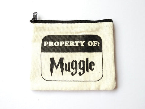 Harry Potter Muggle Coin Purse