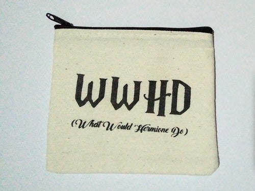 Harry Potter WWHD (What Would Hermione Do) Coin Purse
