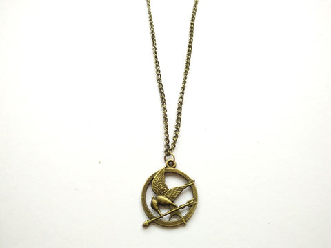 The Hunger Games Mockingjay Necklace Small