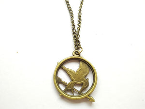 Hunger Games Mockingjay Necklace Small