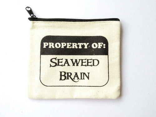 Percy Jackson Seaweed Brain Coin Purse