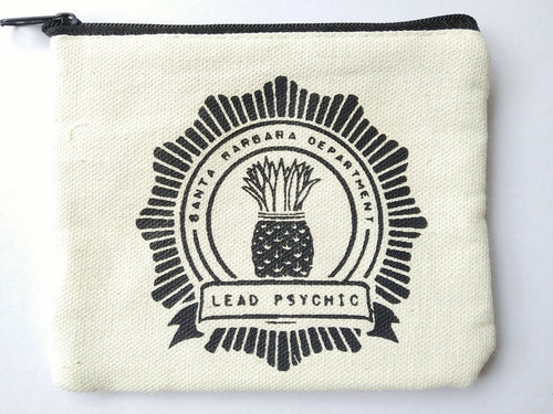 Psych Pineapple Coin Purse