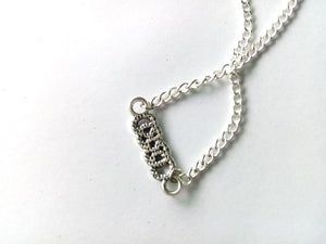Revenge Double Infinity Necklace