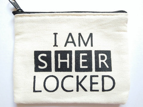 Sherlock I Am Sherlocked Coin Purse