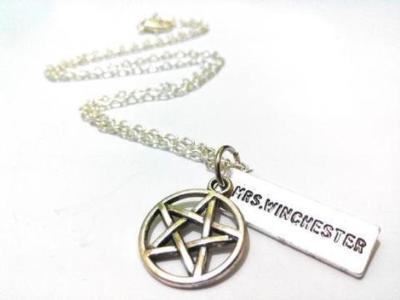 Supernatural Mrs Winchester Necklace
