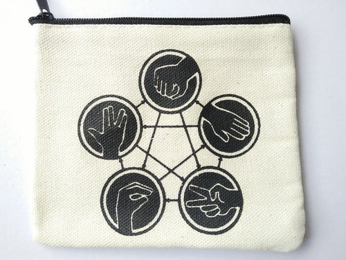 The Big Bang Theory Rock Paper Scissors Lizard Spock Coin Purse