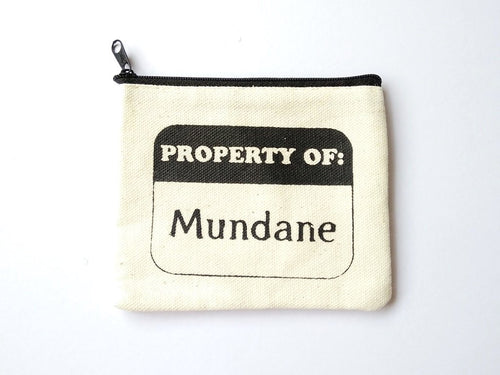 The Mortal Instruments Mundane Coin Purse
