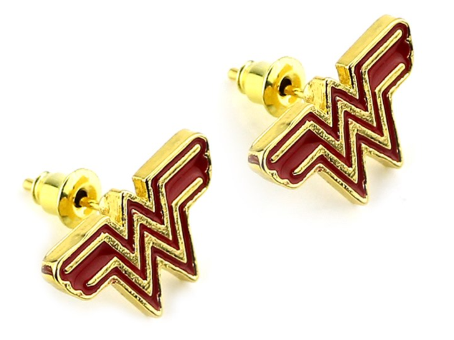 Wonderwoman Symbol Earrings