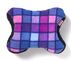 Pink / Blue Check - Polar Fleece
