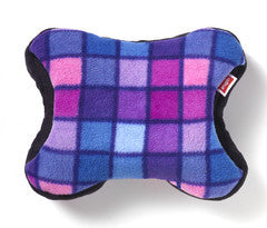 Pink/Blue Check Fleece Mobile Pack