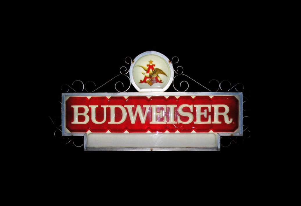 Budweiser Backlit Florescent