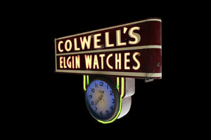 Colwell's Elgin Watches Jewelry Store