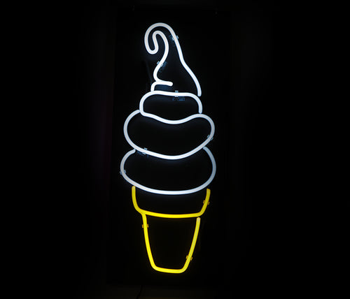 Soft Serve Dairy Whip Cone