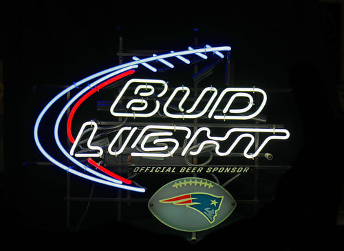 New England Patriots Bud Light
