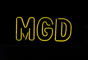 "Miller Genuine Draft ""MGD"""
