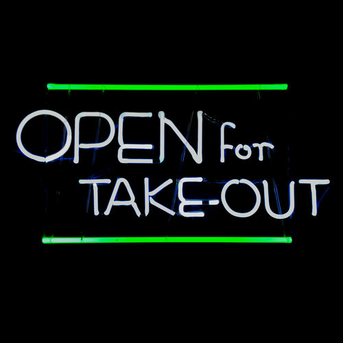 OPEN for TAKE-OUT