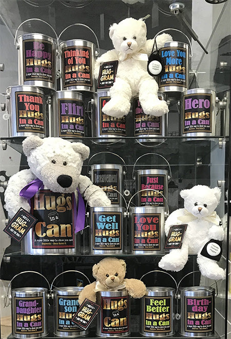 Teddy Bear Gifts Display