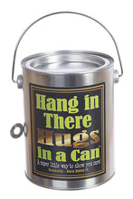 Hugs in a Can Hang in There Hugs  teddy hug gram