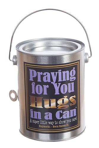 Hugs in a Can Praying for You Hugs Hug in a Can Hugs in a Can Gift