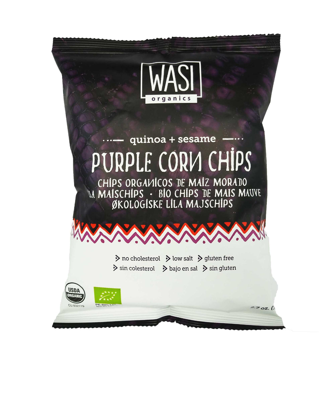 Wasi Organics Purple Corn Chips