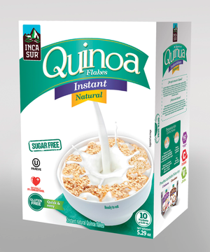 Inst quinoa Flakes Incasur Natural X 150g x Display