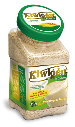 """Kiwigen Golden"" Natural (instant of maca, amaranth and quinoa) x 340gr"