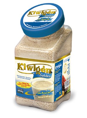 "Kiwigen Golden without sugar"" (instant of maca, amaranth and quinoa) x 340gr"