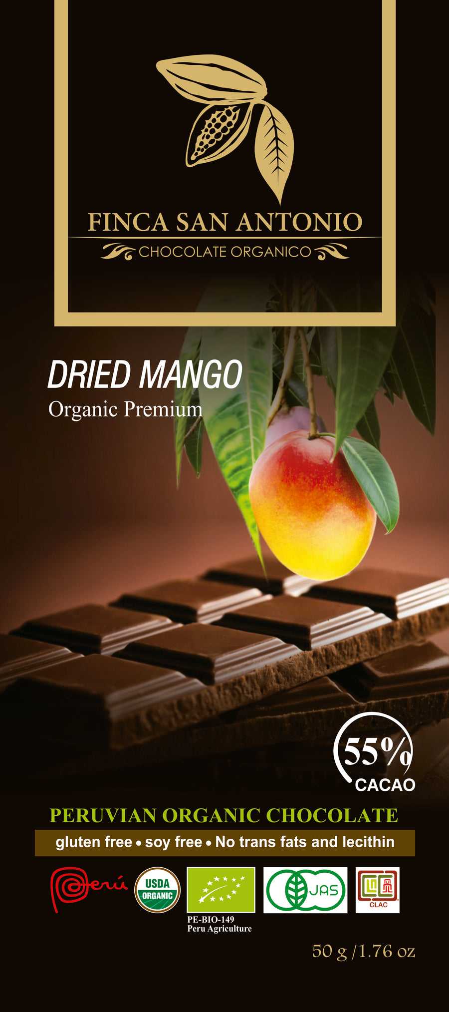 Finca San Antonio - Dried Mango 55%