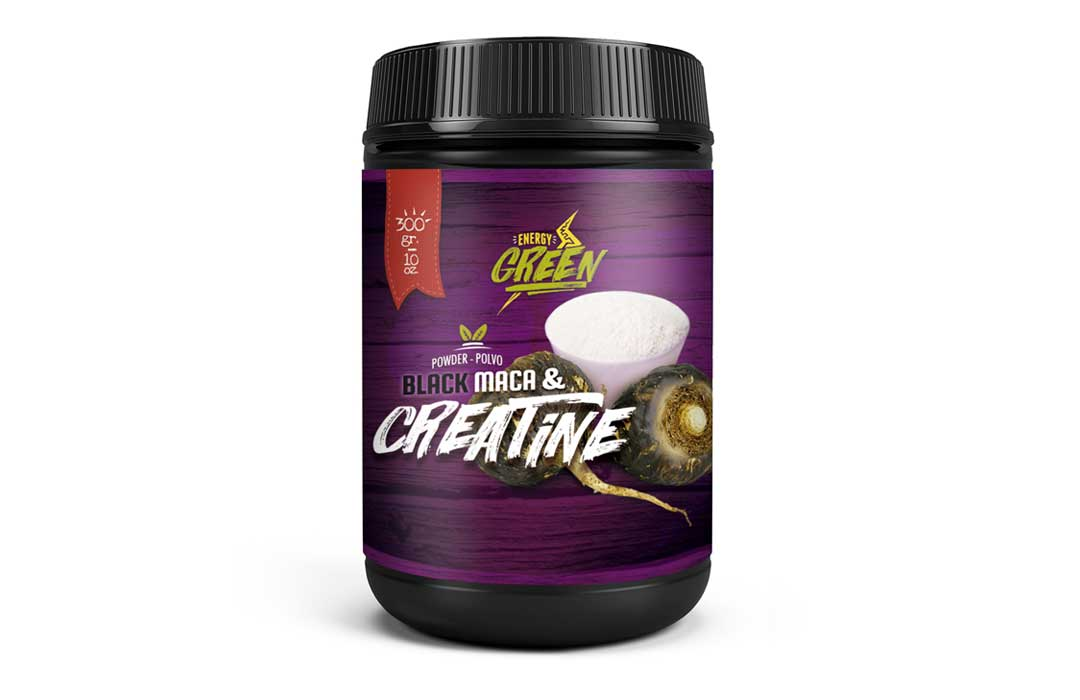 Black maca + creatine powder ( 300 g – 10 oz)
