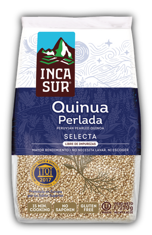 Pearled Quinoa 'IncaSur Selected' x 250 gr