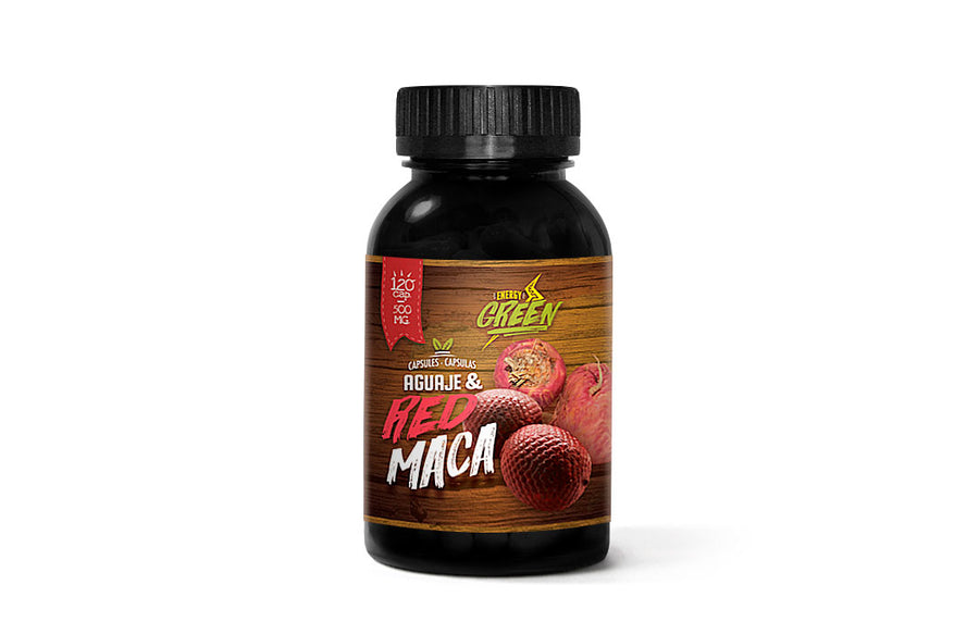 Aguaje and Red Maca capsules (120 x 500 mg)