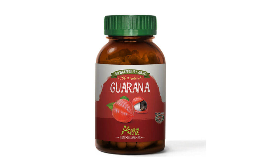 Guarana capsules (100 x 500 mg) HALAL certified
