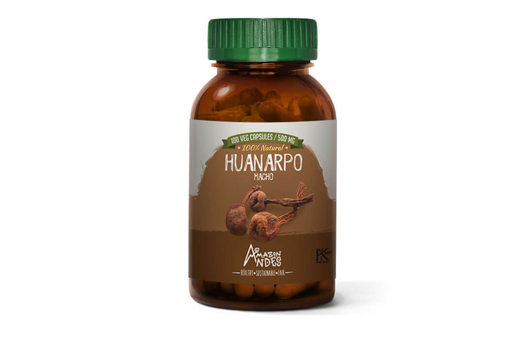 Huanarpo macho capsules (100 x 400 mg) Kosher and Halal certified