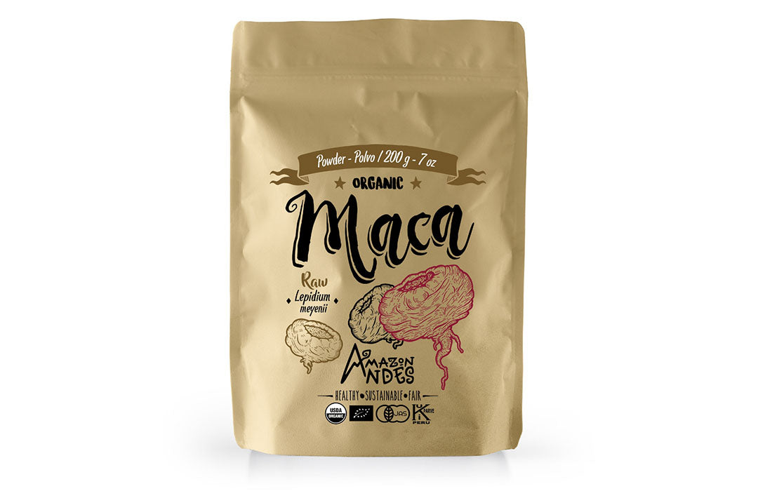 Raw Maca Powder 200 g – 7 oz -Organic USDA, EU, JAS, Halal and Kosher