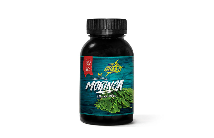Moringa capsules (120 x 400 mg) ENERGY GREEN