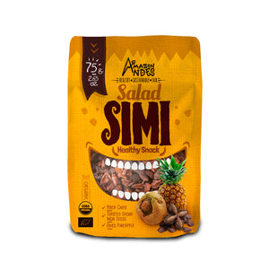 Salad Simi Snack 75 g (Maca chips, dried pineapple and roasted sacha inchi nuts with maras salt )