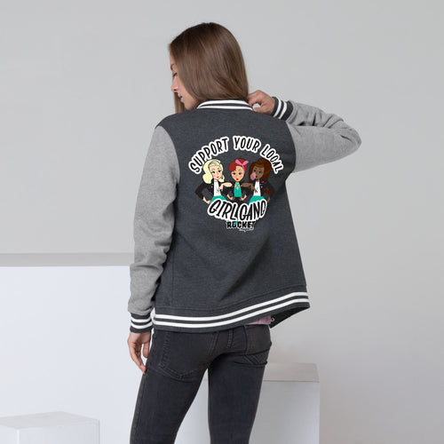 Girl Gang Women's Letterman Jacket
