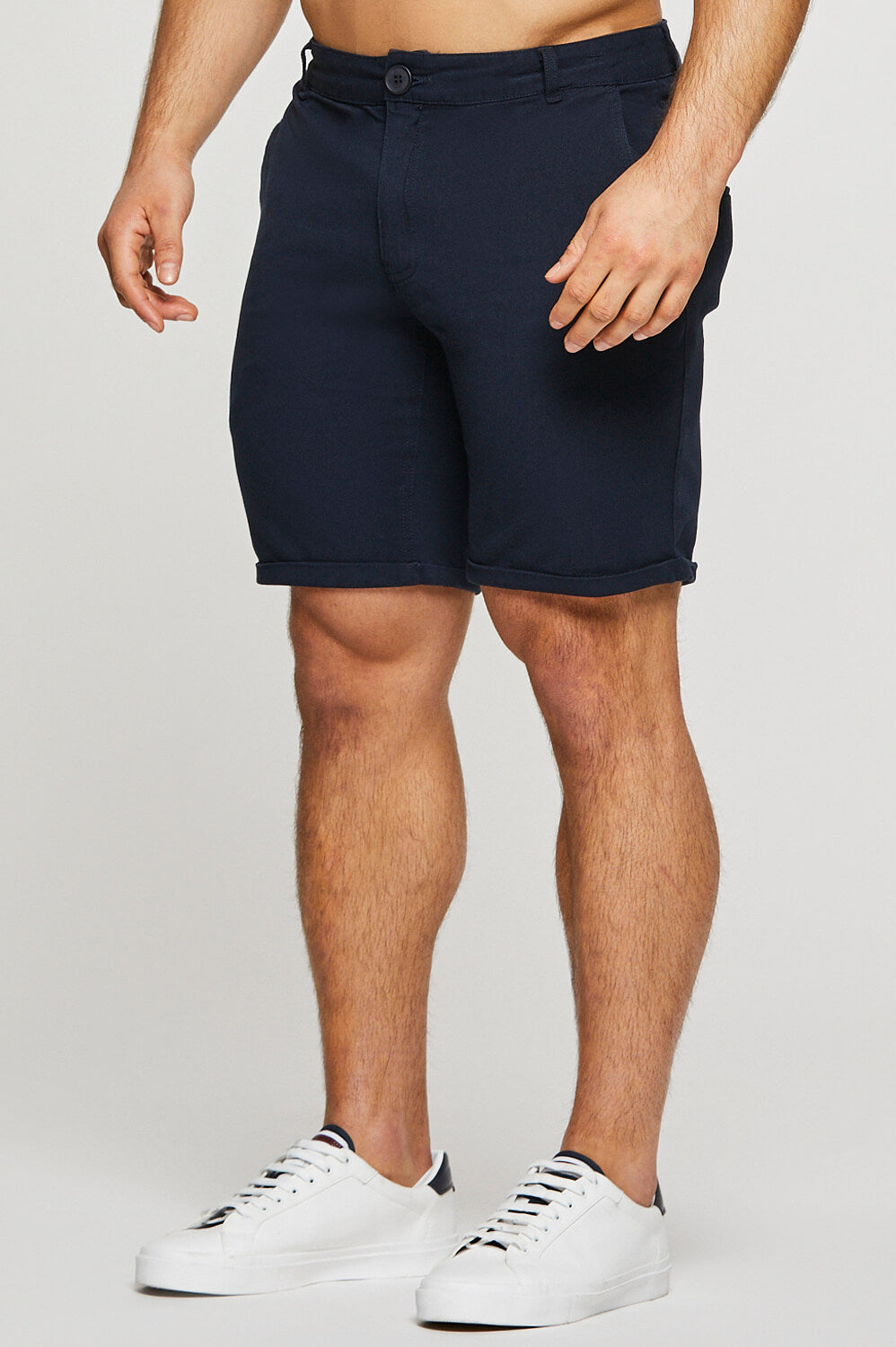 Essential Chino Shorts in Navy