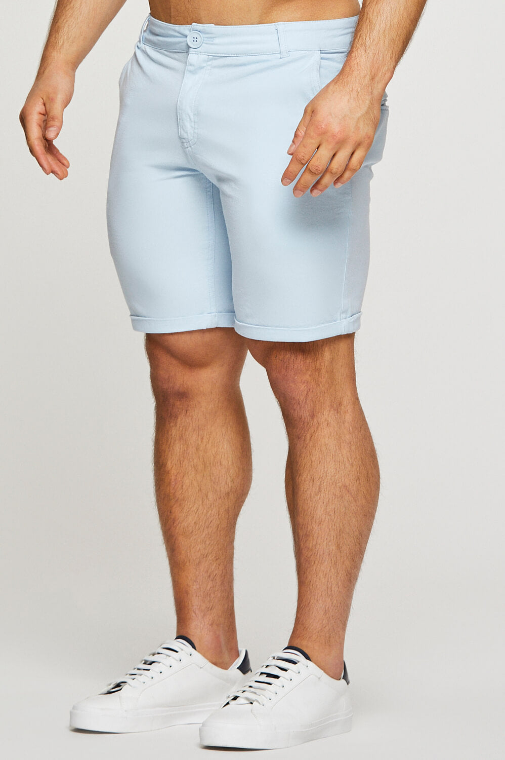 Essential Chino Shorts in Sky Blue