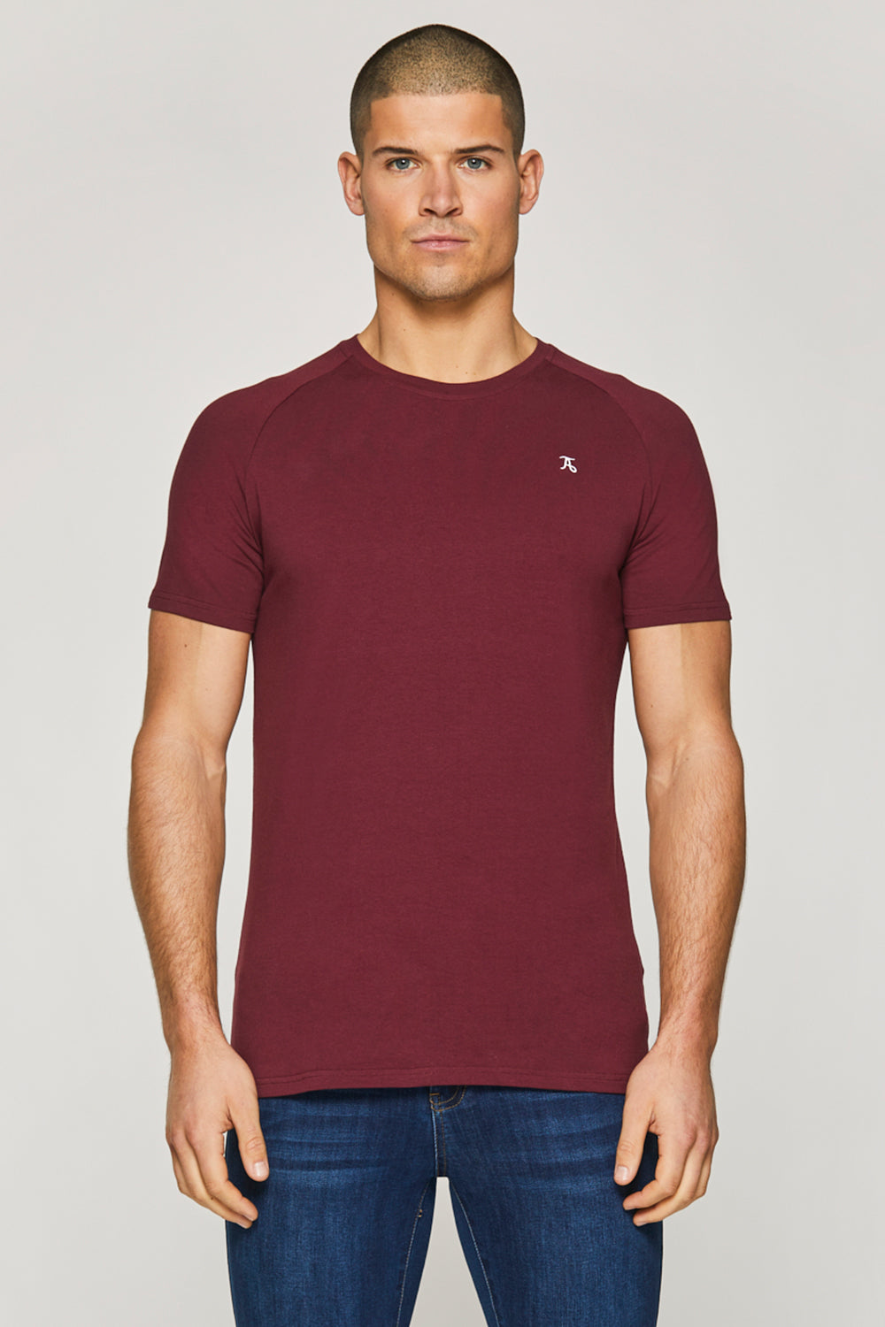 Essential T-Shirt in Burgundy