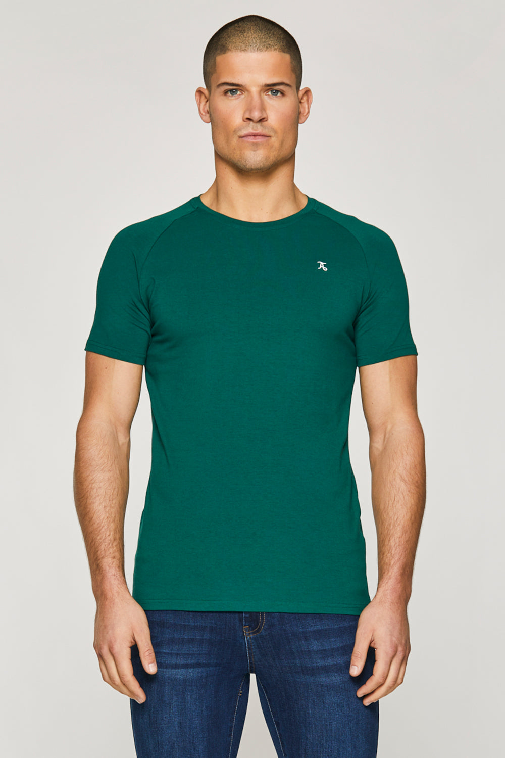 Essential T-Shirt in Oxidised Green