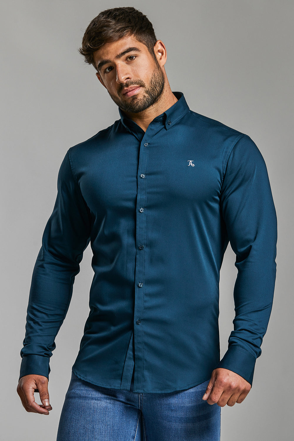 Bamboo Signature Shirt (Limited Edition) in Teal