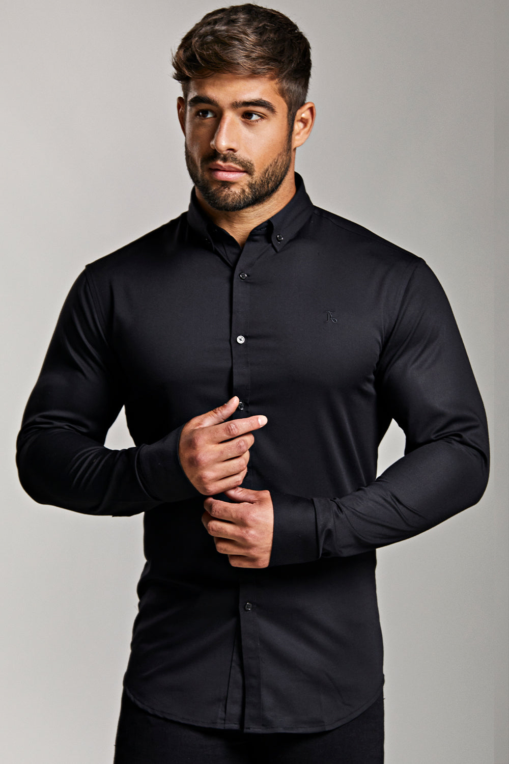 Bamboo Signature Shirt (Limited Edition) in Black