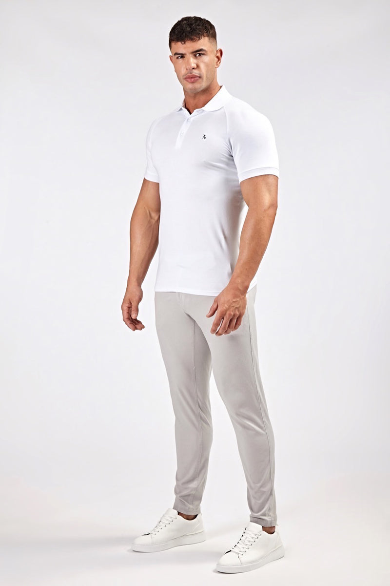 Essential Chinos in Light Grey