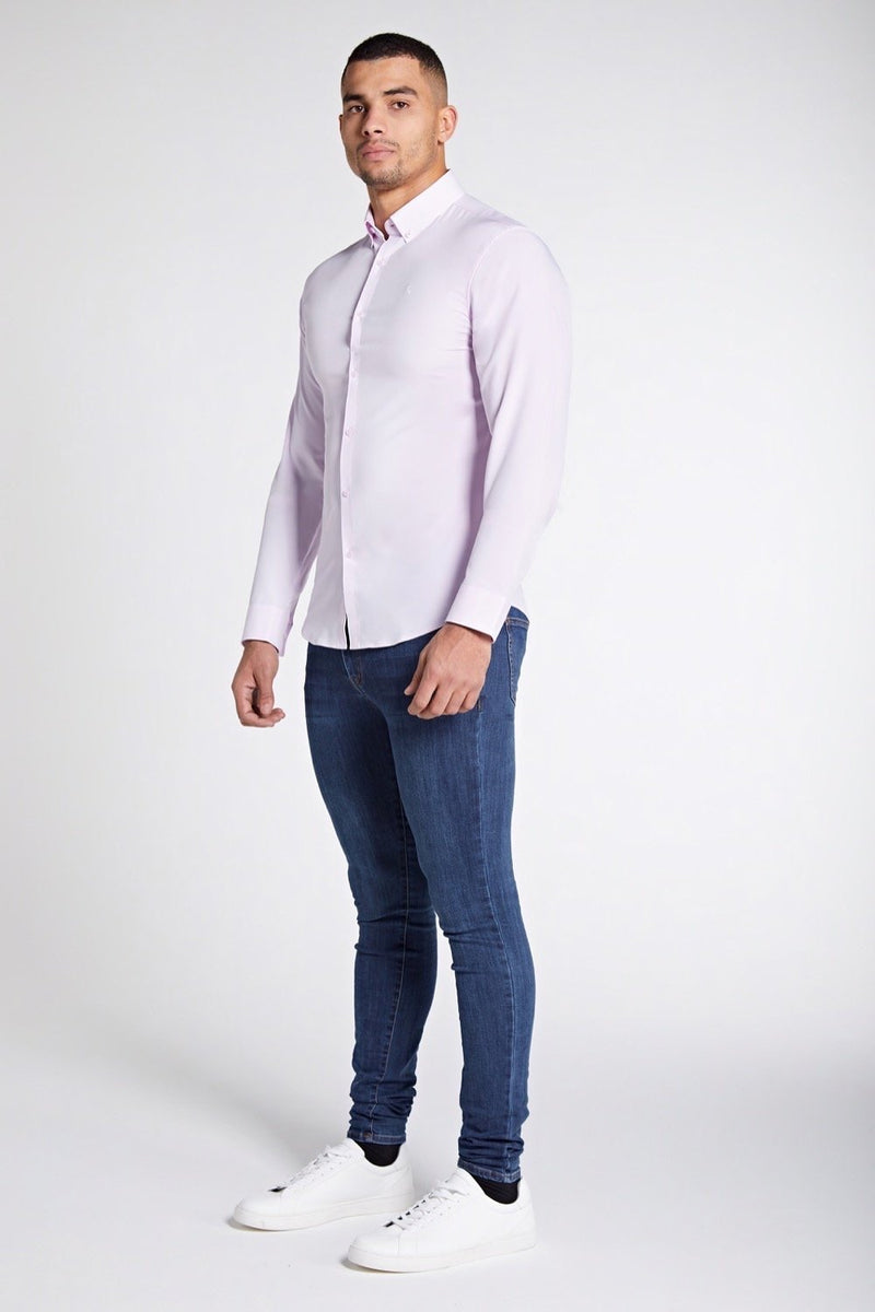 Elite Signature Shirt in Light Pink
