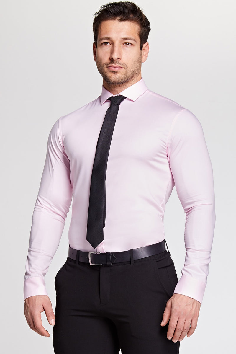 Elite Bamboo Shirt in Light Pink