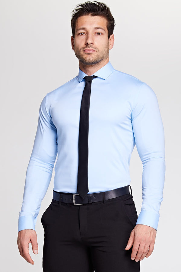 Elite Bamboo Shirt in Light Blue