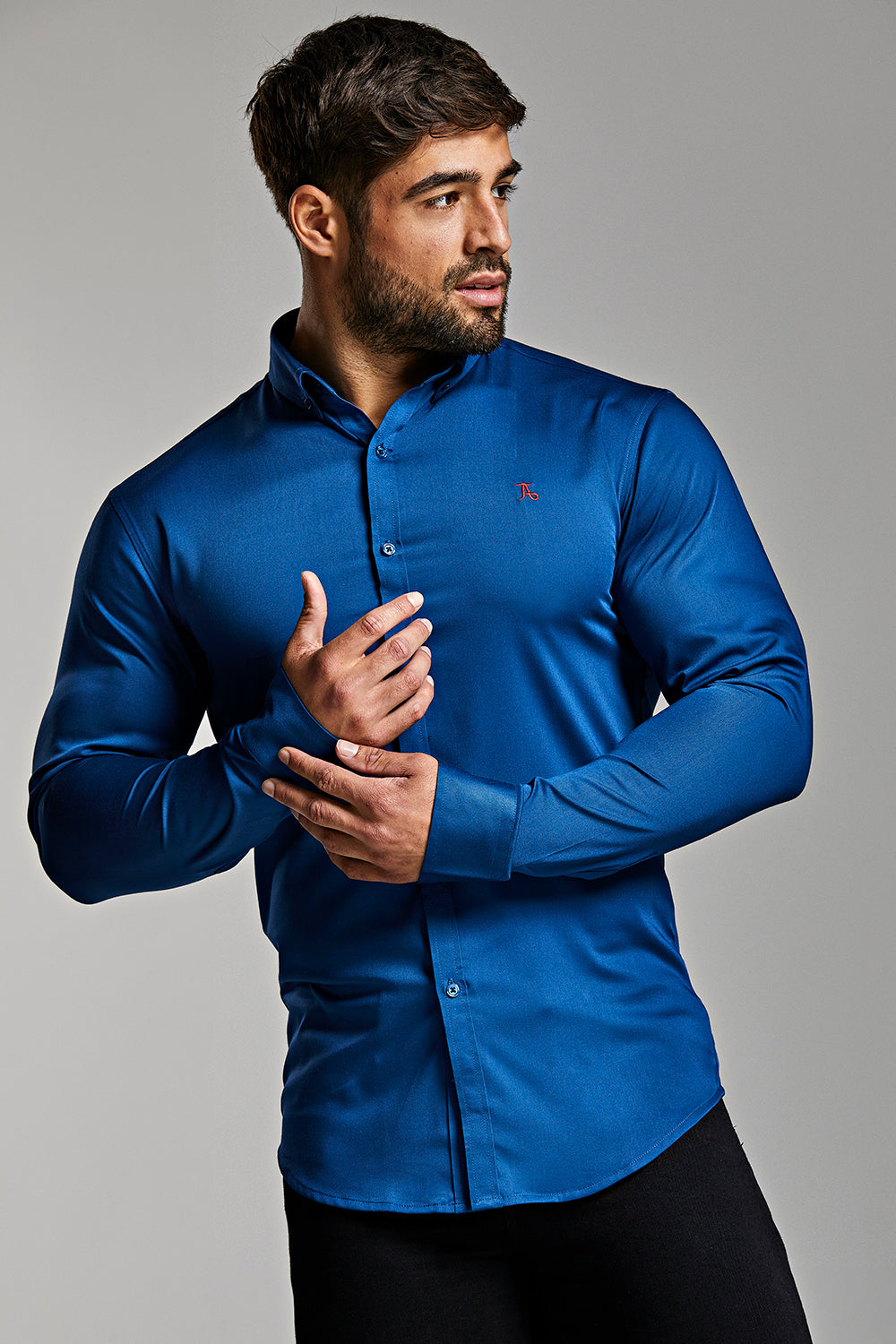 Bamboo Signature Shirt (Limited Edition) in Royal Blue