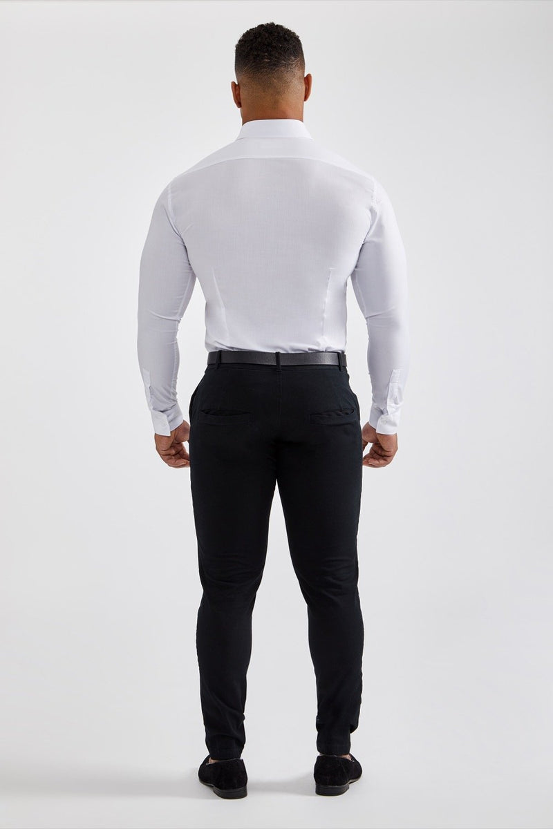 45320471a4 Essential Dress Shirt in White – TAILORED ATHLETE